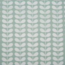Orla Kiely Linear Tiny Stem duck egg 70cm / 42cm wide Fabric new lightweight FQ+