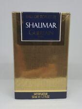 Shalimar Guerlain Paris 50ml EDT Spray Women Unsealed Box Genuine Vintage