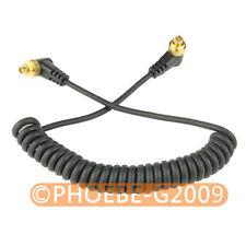 Male M-M FLASH PC Sync Cable for CANON 20D 30D 40D 50D