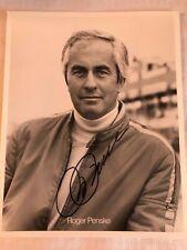 ROGER PENSKE SIGNED 8x10 PHOTO NASCAR INDYCAR INDY 500 IMS Autograph