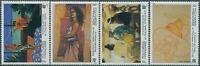 French Polynesia 1993 SG689-692 Paintings set MNH