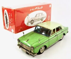 "1965 Isuzu Bellel Japanese Tin 4-Door 10"" (25.4 cm) Sedan by Bandai NR"