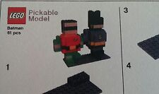 LEGO® Super Heroes Pick-a-brick Modell Batman & Robin Neu mit BA pickable model