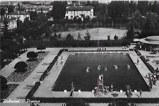 CARTOLINA DALMINE PISCINA CAMPO TENNIS VIAGGIATA 1951