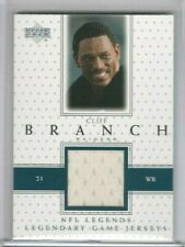 Cliff Branch 2000 Upper Deck UD NFL Legends Legendary Game Jersey Patch RAIDERS