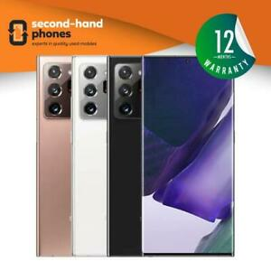 Samsung Galaxy Note 20 Ultra N986B/DS 2020~128~256~512GB~Black/White~UNLOCKED