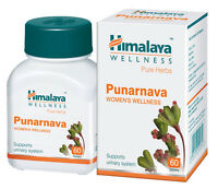 Herbal Punarnava Herb 60 Tablets Controls Urinary Tract Infections