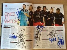 Multi-Signed (16) Reading (Away) Programme,  8th March 2014 V Brighton