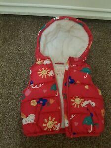 Baby Girl Body Warmer 9-12 Months