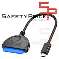 """Cable adaptador USB-C (Tipo-C) a SATA III 2,5"""""""