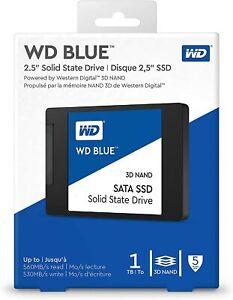 "DISCO DURO SSD WESTERN DIGITAL - WD BLUE 1 TB - SATA III 2.5"" 3D NAND - NUEVO"