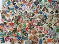 WW 50 grams KILOWARE abt 500 USED STAMPS OFF PAPER PERIOD 20th C to 2018r