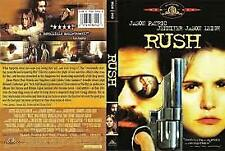RUSH- STARRING: JASON PATRIC -DVD (RARE) R-1, NEW AND SEALED, FREE POST AUS-WIDE