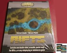 Savage Worlds S2P11206 Rifts Forest Glade/Nexus Point (1) Color Map Terrain Nib