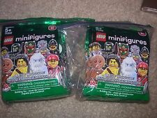 LEGO CMF Collectible Minifigures Series 11 71002 Complete Set of 16 New Sealed
