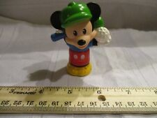 Fisher Price Little People Disney Mickey Mouse Golf Figure Fold Go Part piece