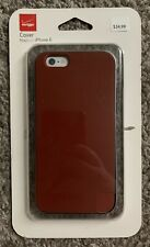 (AY4) Verizon Soft Bumper Case for iPhone 6/6s - Marsala Red