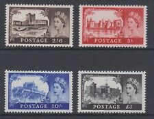 GREAT BRITAIN 1967 BRADBURY NO WATERMARK SET SG 759-762 MNH.