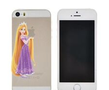 DISNEY Cartoon Transparent Hard Case Schutzhülle für iPhone 5S SE.Rapunzel