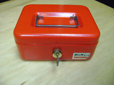 Burg Wachter Cash Box 6 1/2 x  5-in x 3-in Germany with key