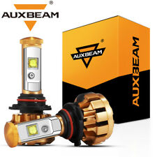AUXBEAM F-16 SERIES 9006 HB4 CREE LED Headlight Lamp Bulb 60W 6000LM White 6000K