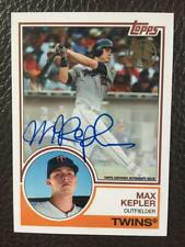 Max Kepler 2018 Topps 35th Anniversary Autograph Auto Twins