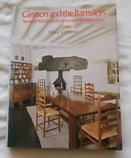 GIMSON & THE BARNSLEYS FURNITURE ARCHITECTURE BOOK BY MARY COMINO 1980 1ST ED.