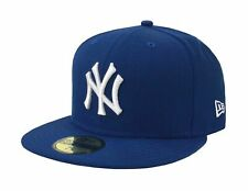 New Era 59Fifty MLB Basic Cap new York Yankees Men Light Royal Blue Hat