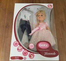 Götz Puppe Hannah Princess / Prinzessin 1359072 - Neu in OVP