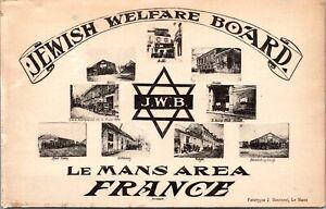 PC Jewish Welfare Board J.W.B. American Embarkation Center Le Mans France~3909