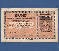 OELDE 5 Millionen Mark 1923 V / VG