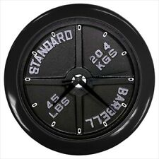 Wall Clock DUMBBELL Barbell Weight Lifting Sports GYM (11541895)