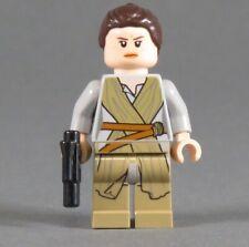 LEGO® STAR WARS™ Figur Rey Minifigur sw0677 75105 Falke Padme Leia Blaster NEU