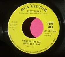 PEGGY MARCH - Roses On the Sea - super clean Promo 45 rpm - RCA 9566