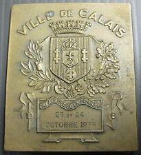 Médaille VILLE DE CALAIS - EXPOSITION PHILATÉLIQUE