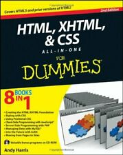 HTML, XHTML and CSS All-in-One for Dummies by Harris, Andrew