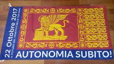 Bandiera gonfalone di San Marco Venezia referendum autonomia Veneto dim.145x80