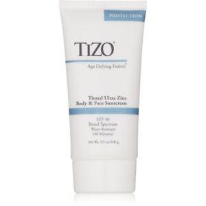TIZO Body & Face Sunscreen Tinted SPF 40 3.5 oz