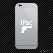(2x) iPac Cell Phone Sticker Mobile many colors