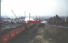 PHOTO  1969 NORTH SHIELDS NCB TRAIN HEADING FOR THE STAITHS AN NCB TRAIN LOADED