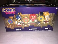 SONIC THE HEDGEHOG CLASSIC FIGURE 3 PACK SONIC / KNUCKLES / TAILS **NEW 2017**
