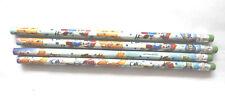 Digimon 4 Bleistifte mit Radiergummi
