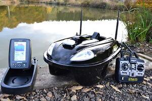 Atom Bait Boat + Toslon TF640 Finder & GPS