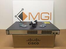 Cisco Ethernet WS-C3750-24PS-E Catalyst PoE Switch 24 Port // Warranty // Qty