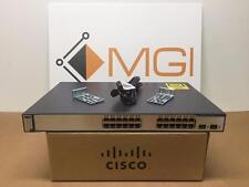 Cisco Ethernet WS-C3750-24PS-E Catalyst PoE Switch 24 Port // Warranty // Qty