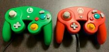 Club Nintendo Official Limited Mario Controller RED Luigi GREEN Wii Gamecube