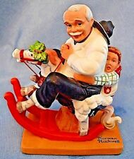 Gramps At The Reins - Adorable Figurine -Norman Rockwell Great Gift For Grandpop