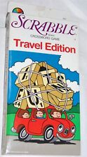 Vintage 1987 Selchow & Tighter Scrabble Crossword Game Magnetic Travel Edition