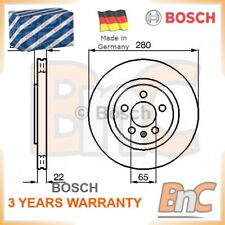 2x BOSCH FRONT BRAKE DISC SET VW SEAT OEM 0986478542 1H0615301A