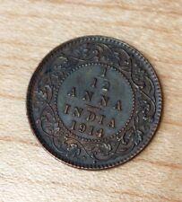 1914 India 1/12 Anna